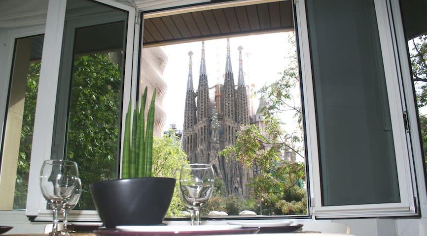 Apartment views Sagrada Familia