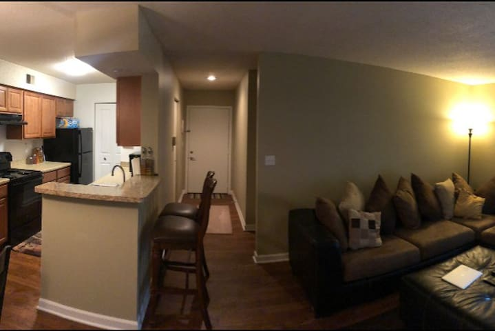 Cozy, spacious, & comfortable apt, mins from UofM