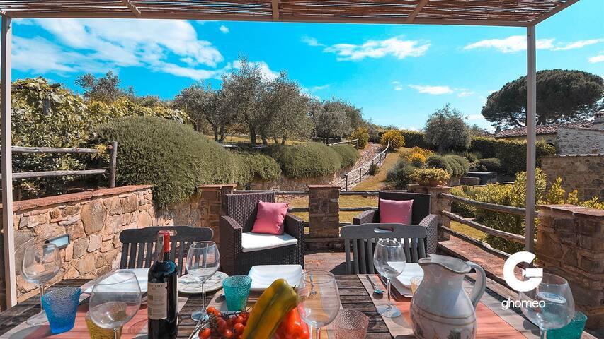 MAJESTIC TUSCAN VILLA | Paradisiac Pool & Garden