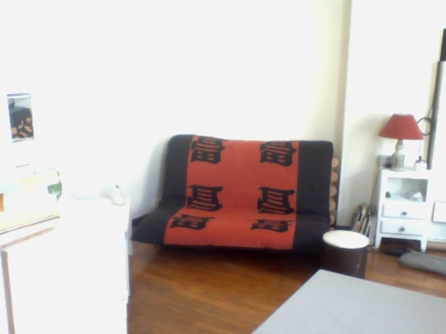 Ancien canapé le nouveau est plus confortable je refais une photo au plus vite