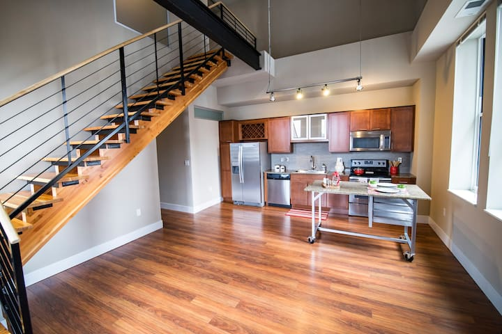 Downtown Minneapolis Upstairs Downstairs Penthouse