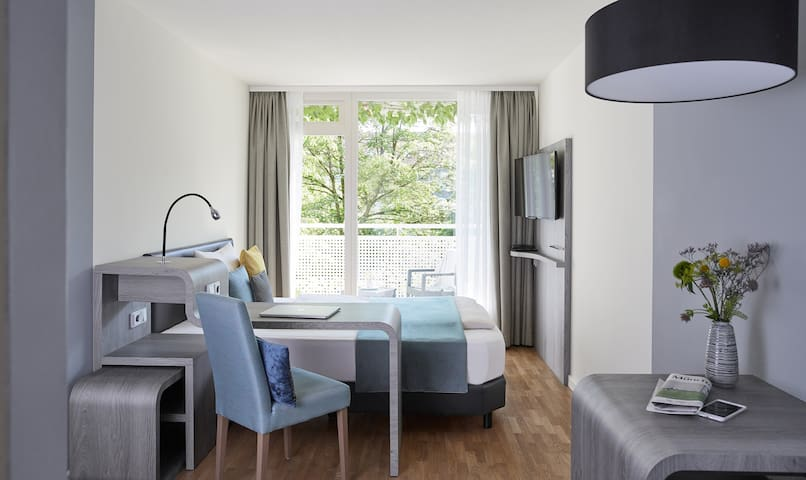 Comfortable apartments at the Olympiapark