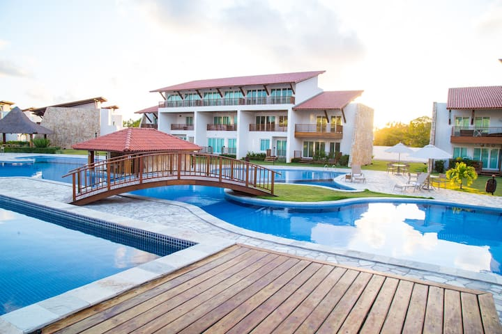 Flat Club Meridional - Praia dos Carneiros - Tamandaré - Lejlighed