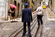 Bica`s tram (5 min walking)