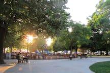Principe Real garden (children`s playground)