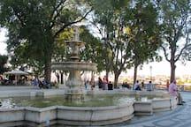 S.Pedro Alcantara garden (just around the corner)
