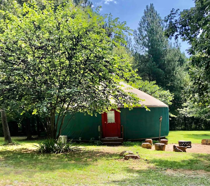 Yummy Yurt - A Cocoon of Love, Peace, and Magic