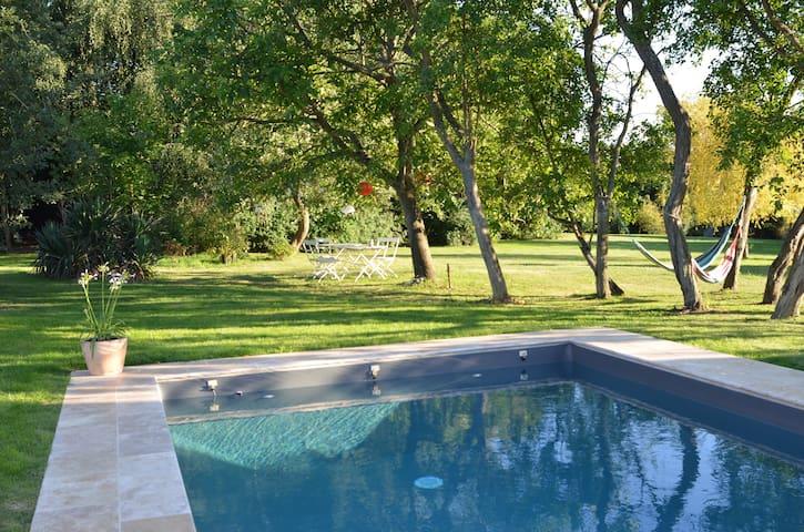 Maison avec piscine en Normandie - Saint-Aubin-sur-Gaillon - Rumah