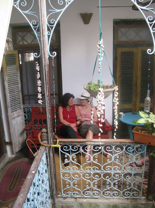 inside balcony