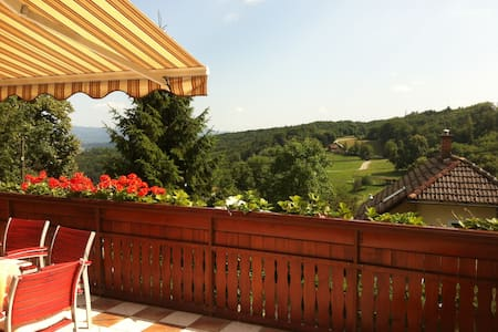 Big house, stunning views & terrace near Ljubljana - Dobeno - House
