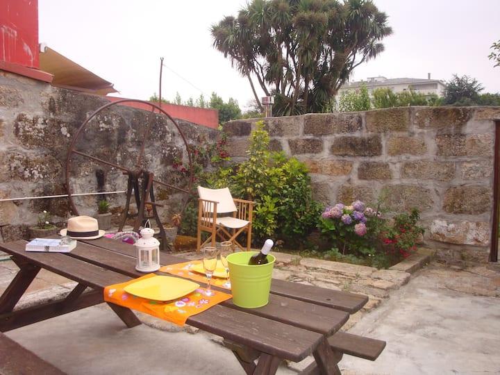 Quarto Suite com acesso a terraço