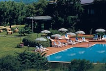 Is Molas Club House swimming pool is available for the guests at a small fee.