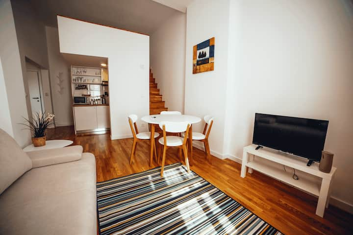 LUXURY ZAGREB DOWNTOWN AP. 1 BEDROOM + GALLERY No6
