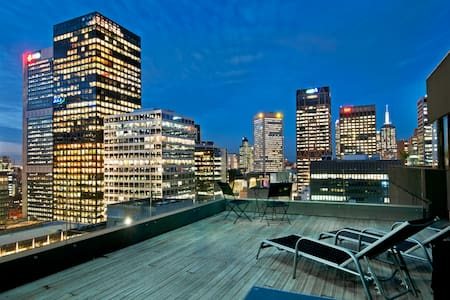 Large Private Rooftop Terrace, CBD - Melbourne - Apartemen