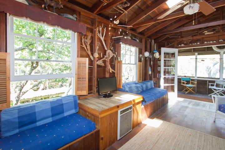 Davis Park Beach Cottage- Fire Island, NY