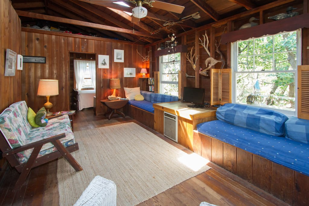 living room- looking towards master bedroom