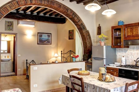 Typical apartment in the Chianti.