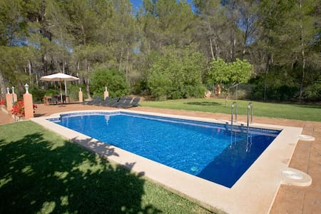 Country house with pool 8 persons - Santa Maria del Camí