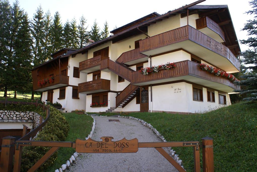 Splendida casa a cortina d 39 ampezzo appartamenti in for Appartamenti cortina affitto