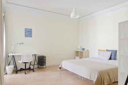 Great private bedroom right in the heart of Lisbon - Lisboa
