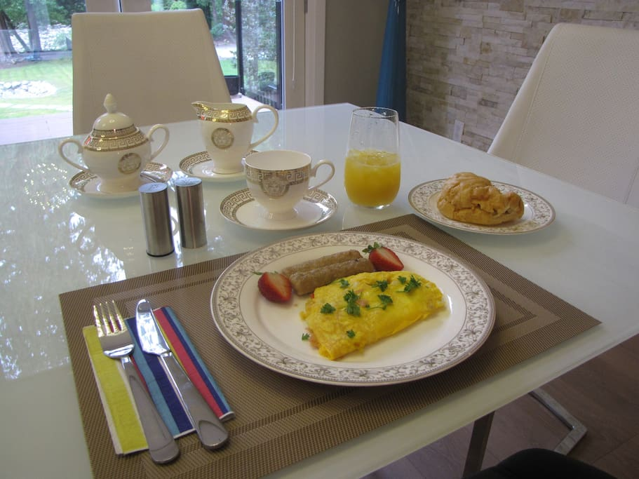 Start your day with our hearty breakfast