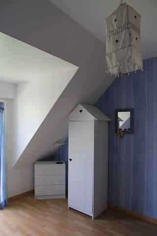 Chambre entre terre et mer - Guérande - Rumah Tamu
