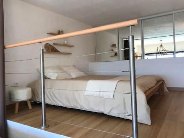 Chambre 1 avec lit double 160
