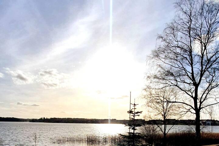 Udsigt til Skanderborg sø