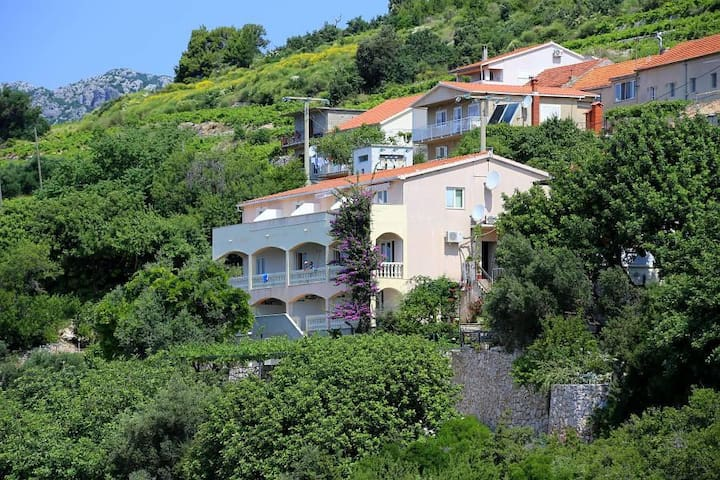 One bedroom apartment with terrace and sea view Mokalo, Pelješac (A-639-c) - Stanković - Wohnung