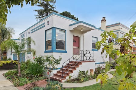 Charming Bay Area Art Deco Duplex