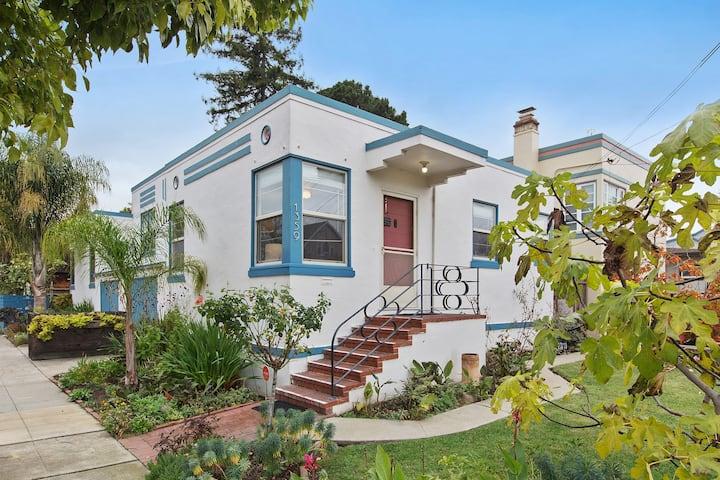 Charming Bay Area Art Deco Duplex