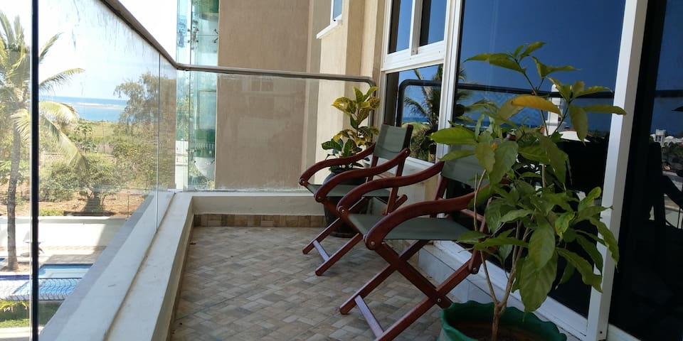 Dolphin - Next Apartment, with ocean view, Nyali