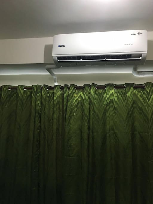 A 2hp split-type aircon sets the temperature for the entire condo unit. Set it as low as 17 Celsius during summer, or as high as 30 during rainy days - whichever you prefer.