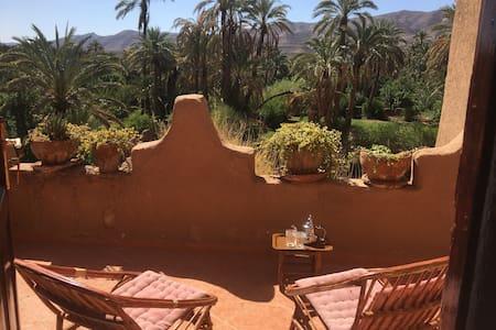 La maison de la palmeraie