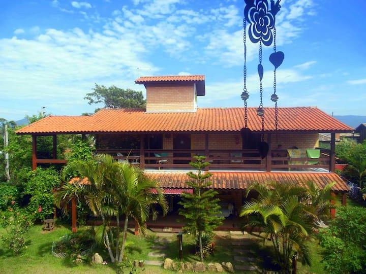 QUARTO 1: Pousada Morada Om Shanti - Praia do Rosa