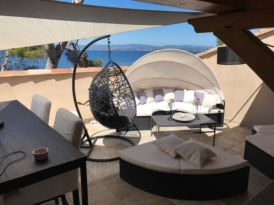 Le paradis chambres d 39 h tes louer hy res provence for Chambre hote hyeres