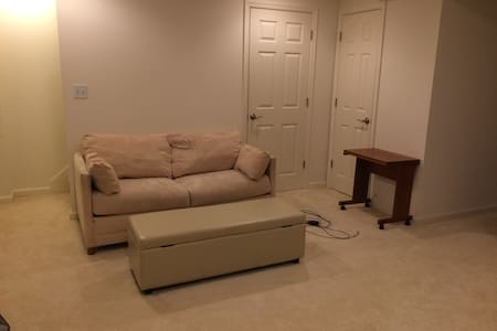 Comfy basement room in quiet neighborhood - Reisterstown - Stadswoning