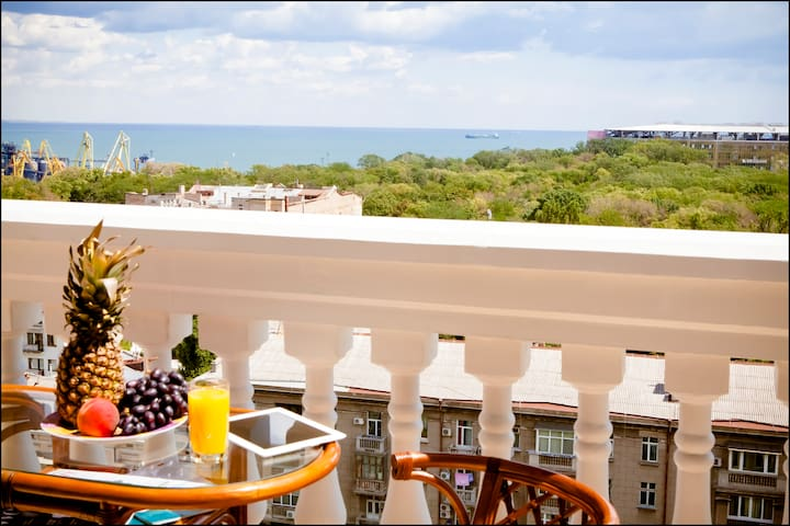 Luxury apartment with sea views! - Odessa - Pis