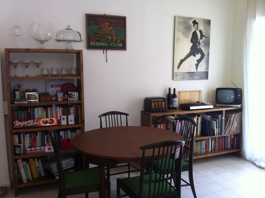 Retro dining area