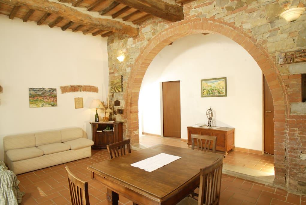 Appartamento Ginepro salotto