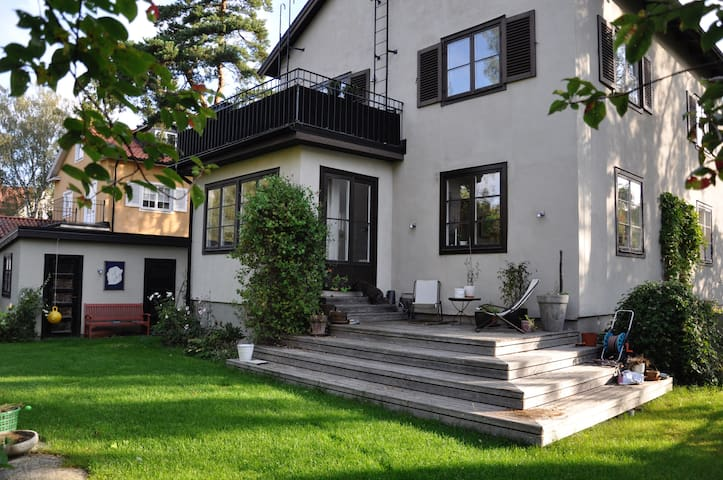 Family home with a great atmosphere in Bromma! - สตอกโฮล์ม - บ้าน