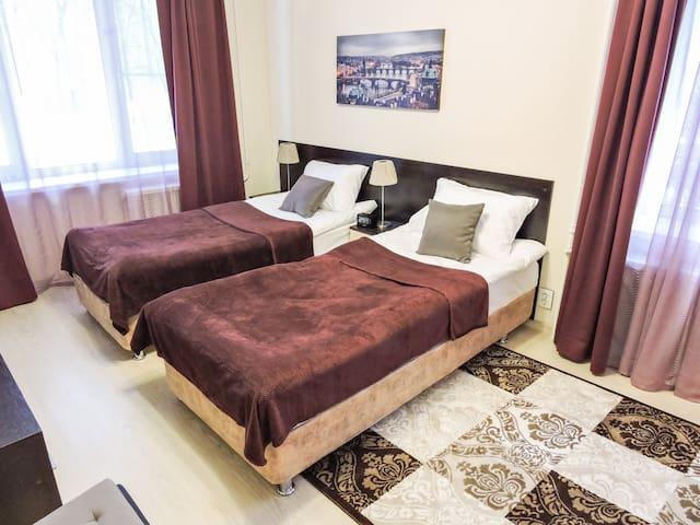 Апартаменты Caravan 2 на Лодочной 31 - Moskva - Appartement