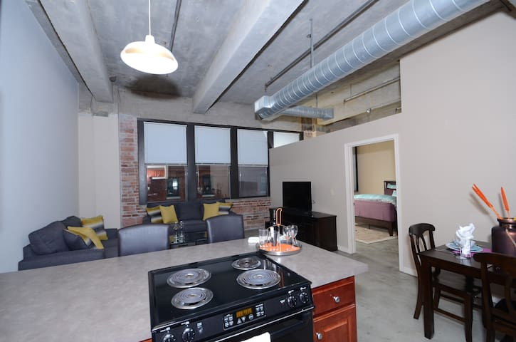 Art District Condo near Power and Light - Kansas City - Apartament