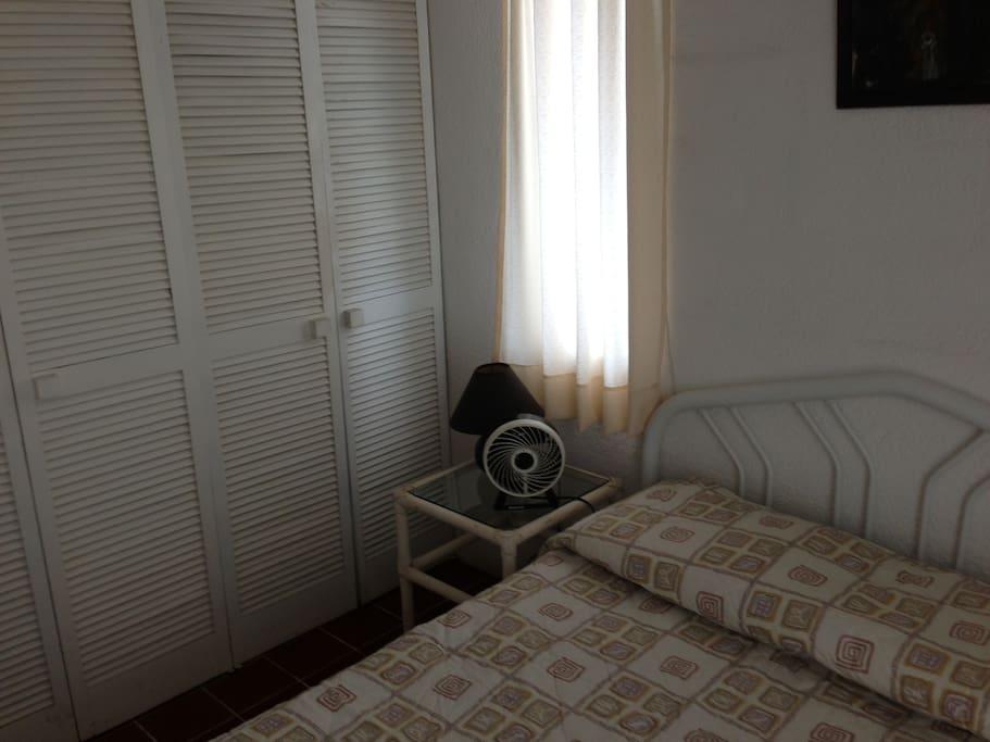 Closet space in bedrooms