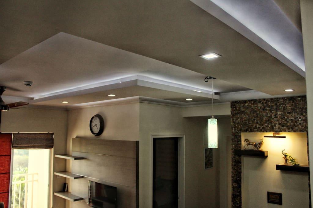 All LED down lights