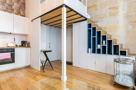 Appartement équipé près des quais avec parking - Bordeaux - Apartament