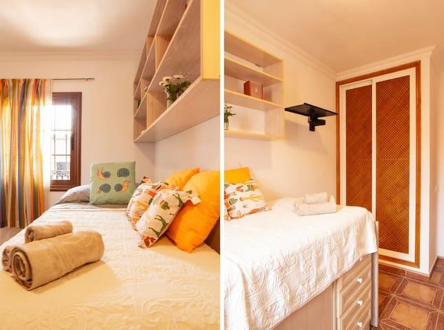 Detalles habitación individual
