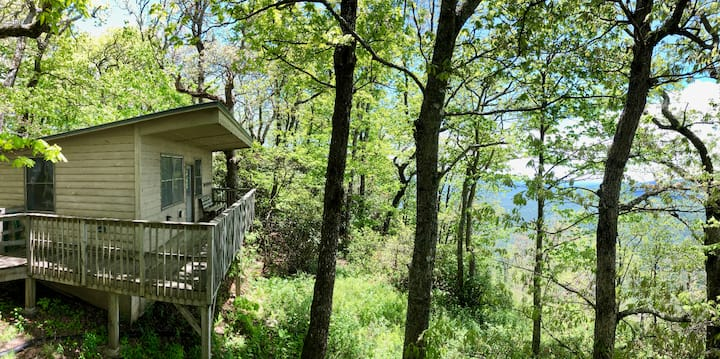 Cabin with a view, minutes from downtown! #12B