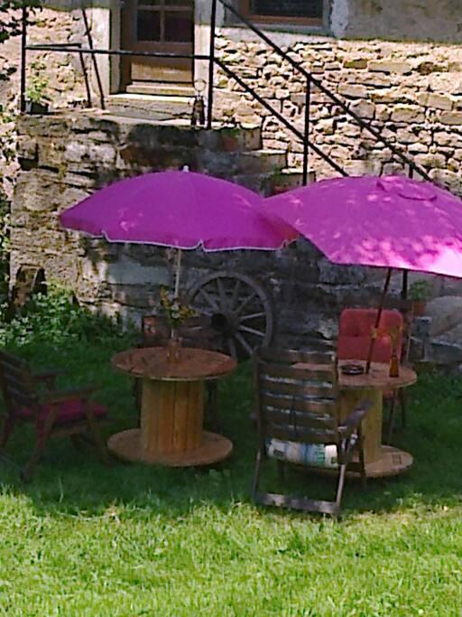 La terrasse de la brasserie