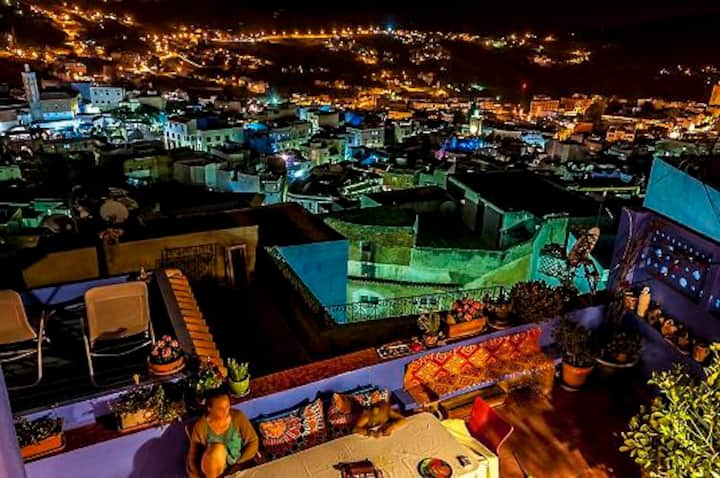 CHEFCHAOUEN SWEET HOME